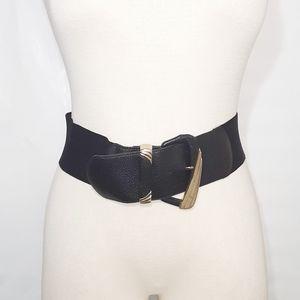 Express | Black Chunky Belt
